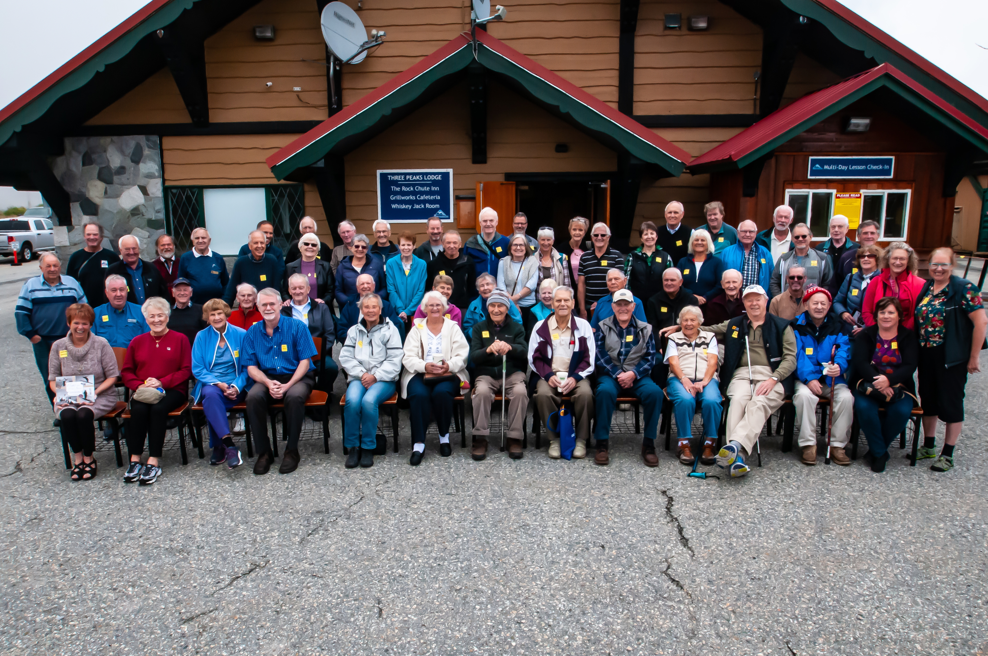 Pioneer Skiers' Reunion, Mt. Seymour, September 18, 2019. Photo by Helmer Sieber